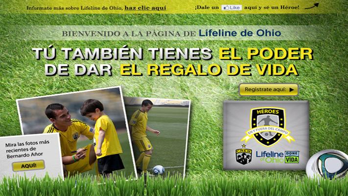 Bringing awareness of organ and tissue donation to the Hispanic market.