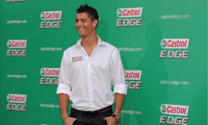 Castrol knew the importance of soccer to their fans, and offered Ronaldo's biography on their Facebook page.
