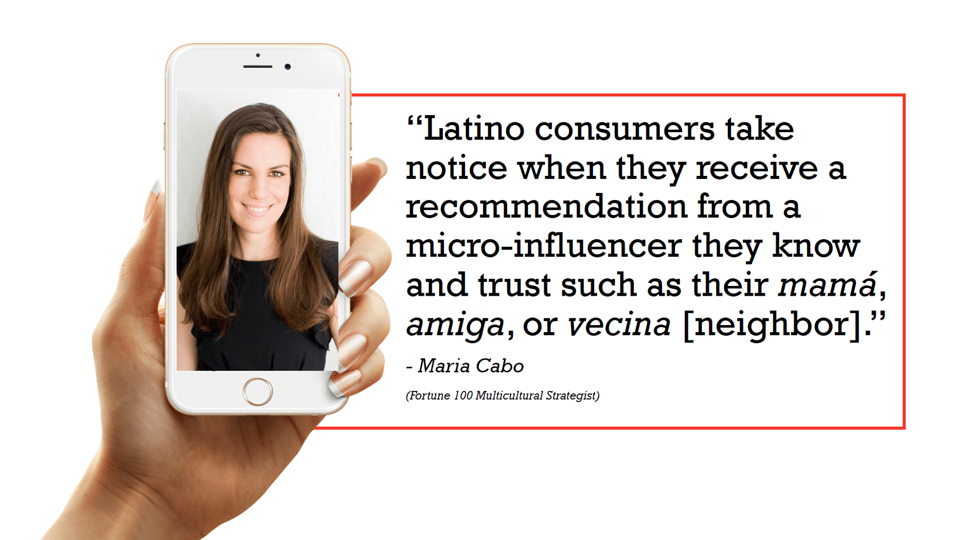 latino social media influencers - Maria Cabo